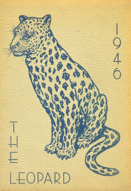 1946 Lincoln High School Yearbook Cover