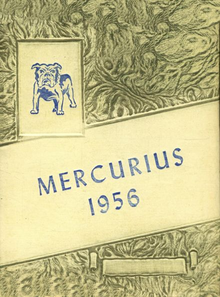 1956 Bridgewater Classical Academy Yearbook Cover