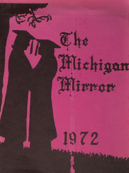 1972 Michigan School for the Deaf Yearbook Cover