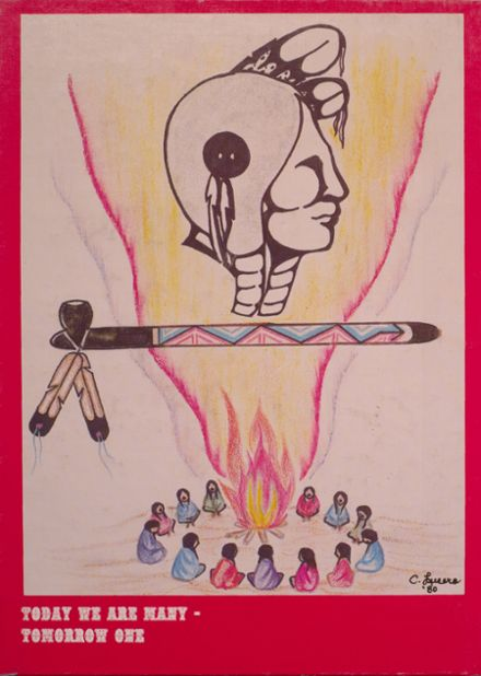 1981 Intermountain Indian High School Yearbook Cover