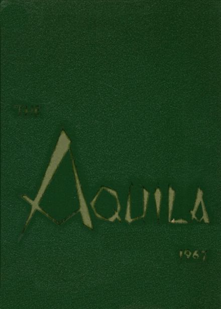 1967 St. John's Academy Yearbook Cover