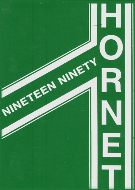 1990 Boles Home High School Yearbook Cover