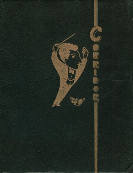 1940 Falconer High School Yearbook Cover