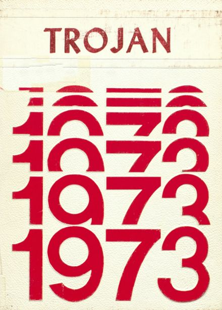 1973 Coldspring High School Yearbook Cover