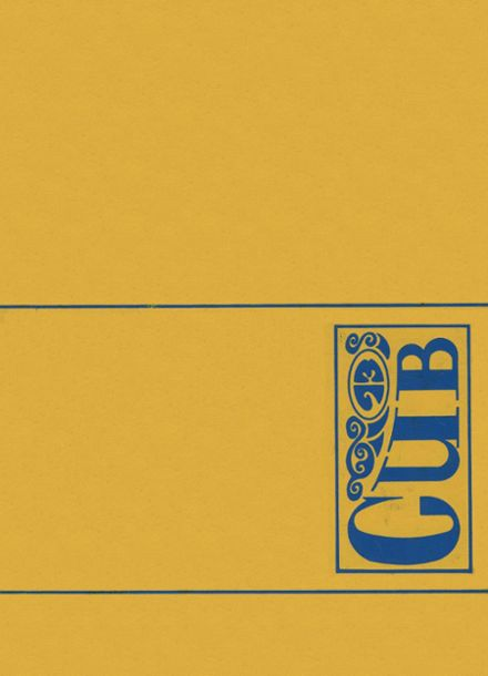 1973 Carencro High School Yearbook Cover