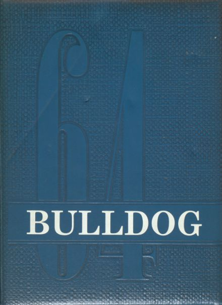 1964 Wauconda High School Yearbook Cover