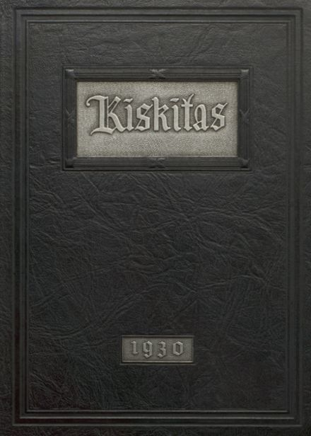 1930 Apollo High School Yearbook Cover