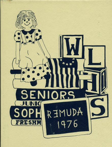 1976 Walther Lutheran High School Yearbook Cover