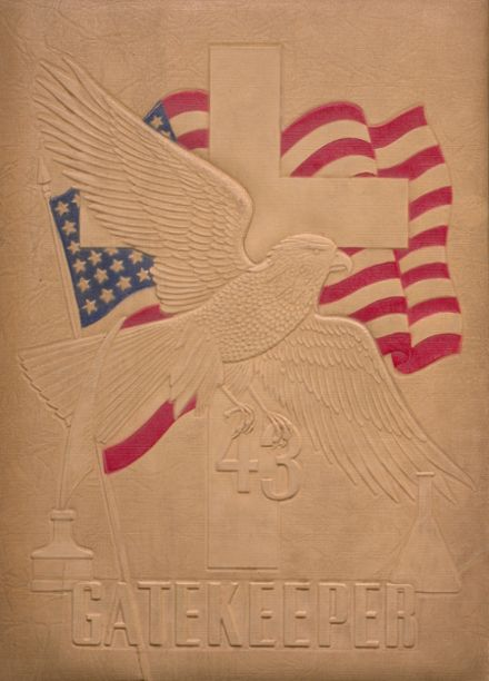 1943 St. Peter's High School Yearbook Cover