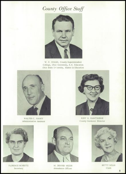 1963 West Lafayette High School Yearbook Page 9