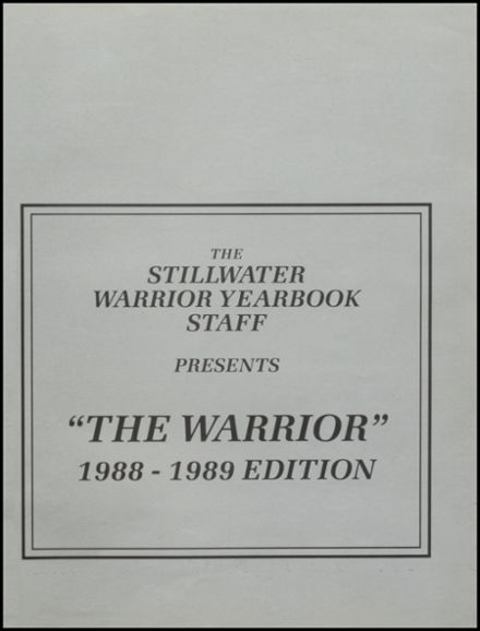 1989 Stillwater High School Yearbook Page 5
