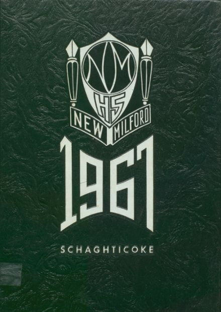1967 New Milford High School Yearbook Cover