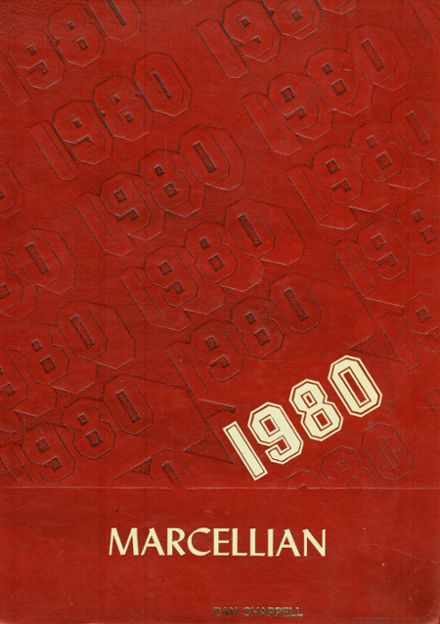1980 Marcellus High School Yearbook Cover