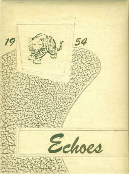 1954 Ripley High School Yearbook Cover