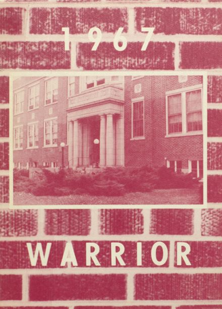 1967 McHenry Community High School Yearbook Cover