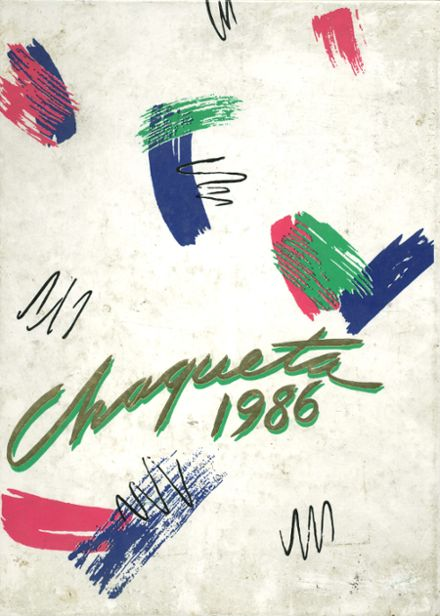 1986 Franklin High School Yearbook Cover