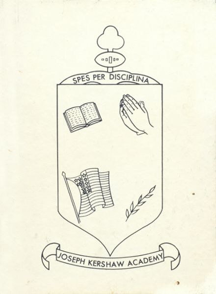 1968 Joseph Kershaw Academy Yearbook Page 1