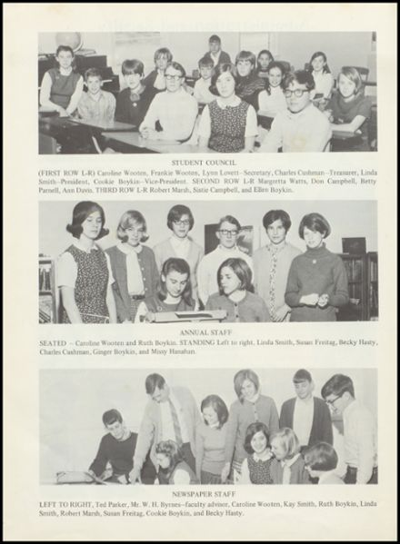 1968 Joseph Kershaw Academy Yearbook Page 8