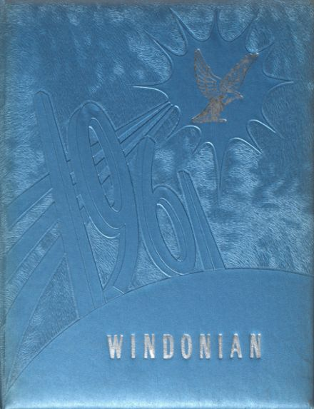1961 Windham High School Yearbook Cover