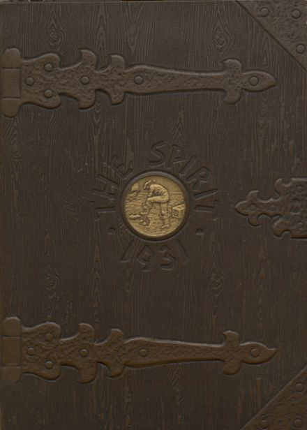 1931 Ames High School Yearbook Cover