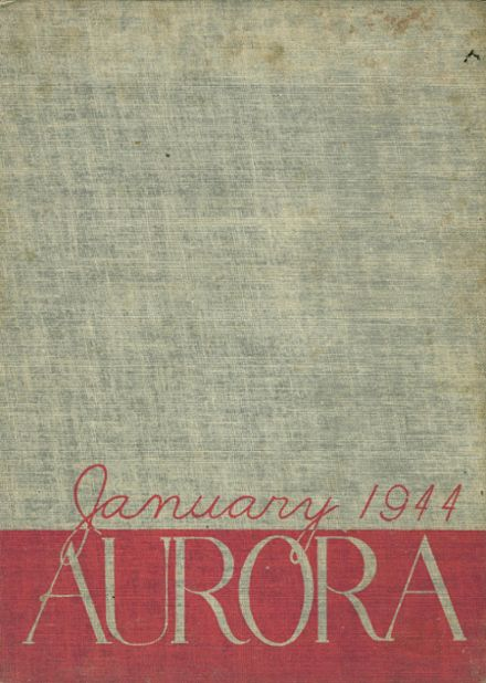 1944 Thomas Jefferson High School Yearbook Page 1