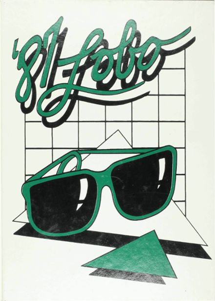 1987 Monahans High School Yearbook Cover
