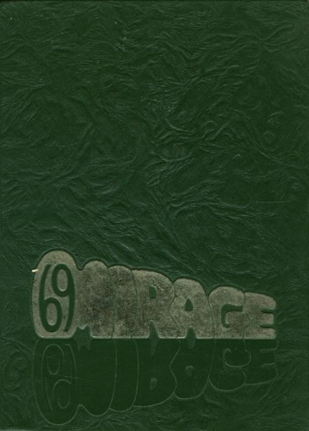 1969 Lancaster High School Yearbook Cover
