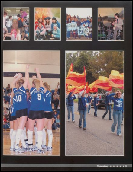 2006 Plainwell High School Yearbook Page 7