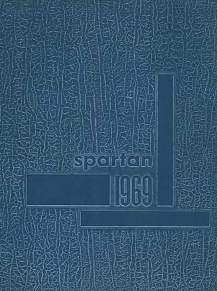 1969 Sooner High School Yearbook Cover