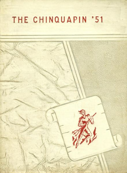 1951 Natchitoches High School Yearbook Cover