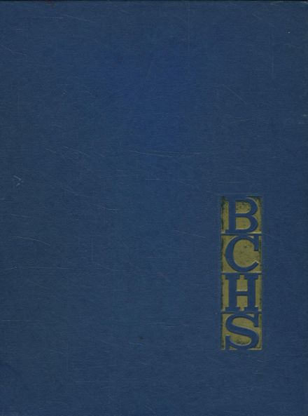 1963 Boulder City High School Yearbook Cover