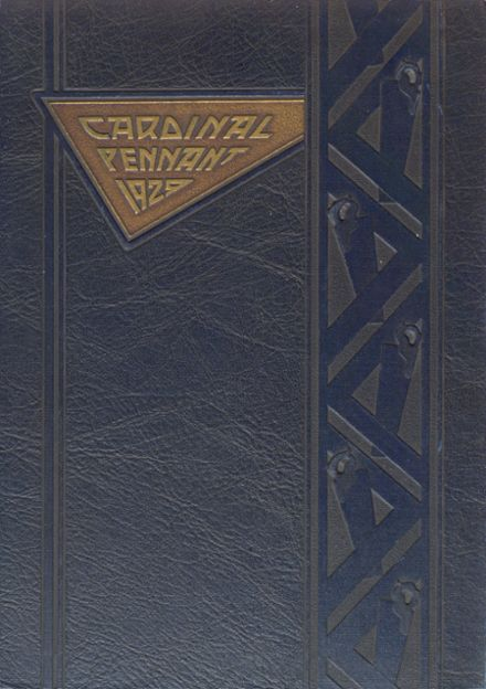 1929 Wauwatosa High School Yearbook Cover