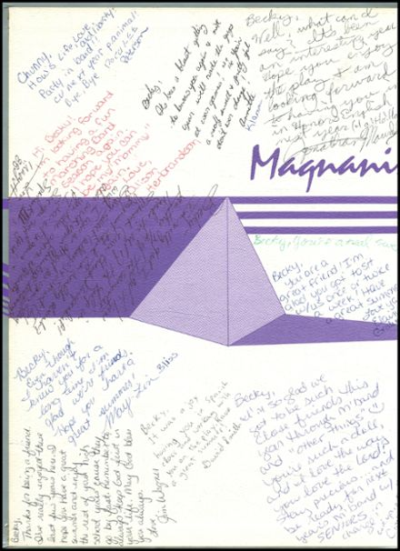 1987 Lynchburg Christian Academy Yearbook Page 2