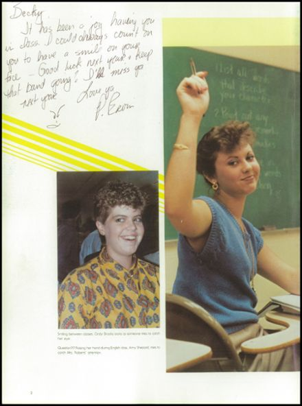 1987 Lynchburg Christian Academy Yearbook Page 6