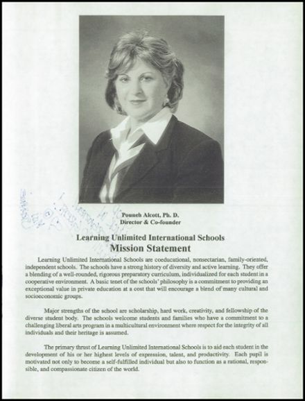 1998 Village Academy Yearbook Page 7