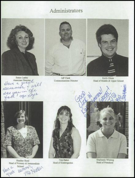 1998 Village Academy Yearbook Page 8