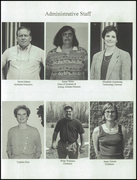 1998 Village Academy Yearbook Page 9