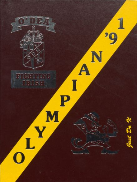 1991 O'Dea High School Yearbook Cover