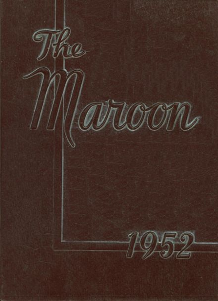 1952 Johnson High School Yearbook Cover