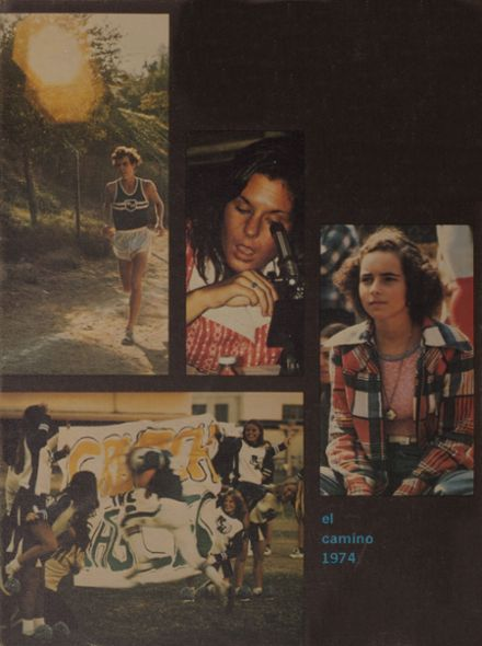 1974 North Hollywood High School Yearbook Cover