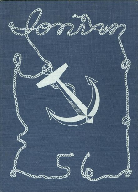 1956 Ionia High School Yearbook Cover