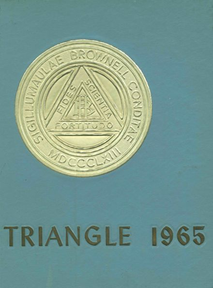 1965 Brownell - Talbot High School Yearbook Cover