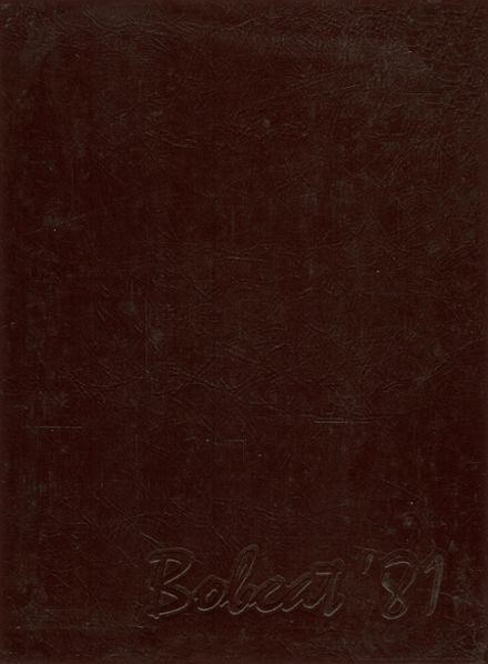 1981 Cy-Fair High School Yearbook Cover