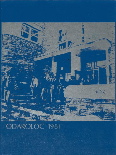 1981 Boulder High School Yearbook Cover