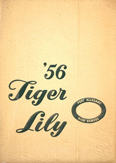 1956 Port Allegany High School Yearbook Cover