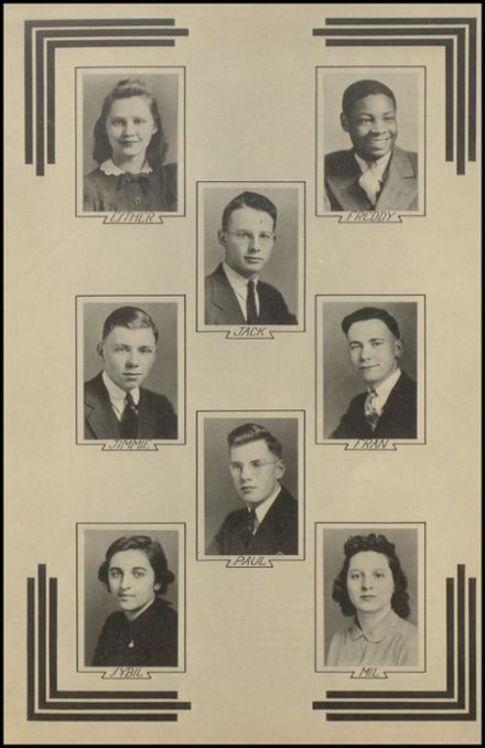 1940 New Milford High School Yearbook Page 9