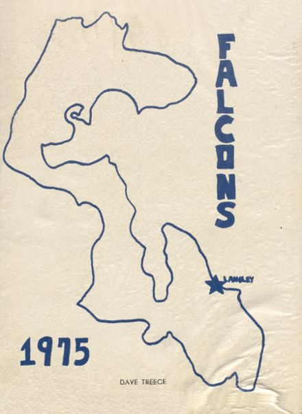 1975 Langley High School Yearbook Cover