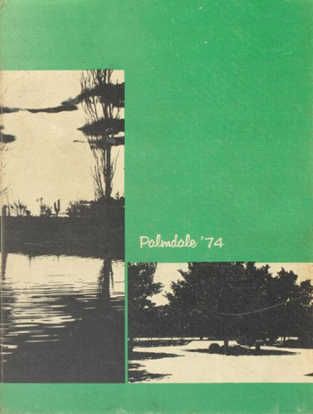 1974 Palmdale High School Yearbook Cover