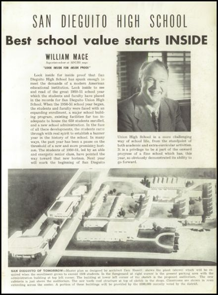 1951 San Dieguito High School Yearbook Page 3