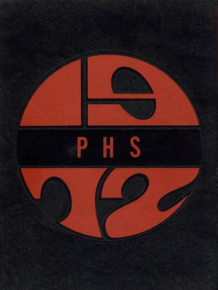 1972 Plymouth High School Yearbook Cover